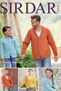 Cardigans Sirdar 8225, pdf download