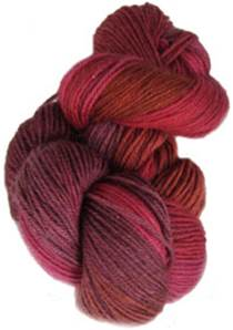Lornas Laces Shepherd Sock 4 ply, Red Rover