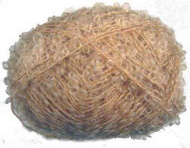Knitting Patterns Boucle Wool : Unbranded Boucle in honey, approx DK