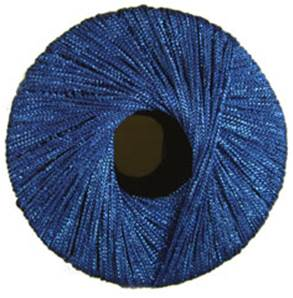 Starlight royal blue lurex knitting yarn