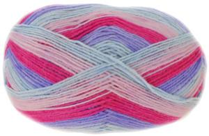 Heart And Sole 4 ply sock yarn 107 Hip Hop