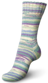 Regia Design Line 4 ply sock yarn 3772 Sugared Almonds by Kaffe Fassett