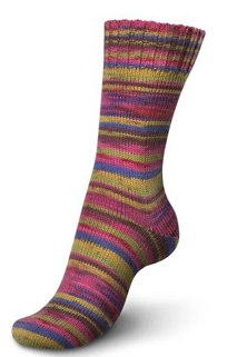Regia sock yarn 3774 Chilli Pepper by Kaffe Fassett