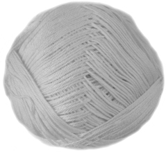 Sirdar pure Cotton 4ply 501, Mill White