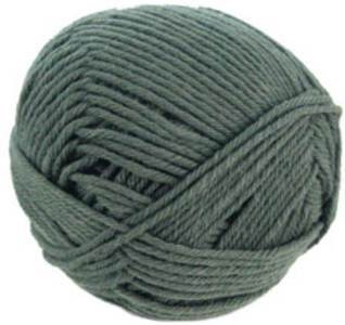 Pure French Merino DK knitting yarn 29132 Grey Green