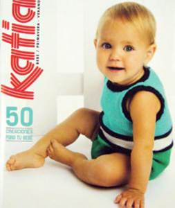 Katia 56, 50 patterns for babies, spring collection
