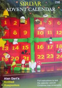 Sirdar Advent Calendar S298, Alan Dart