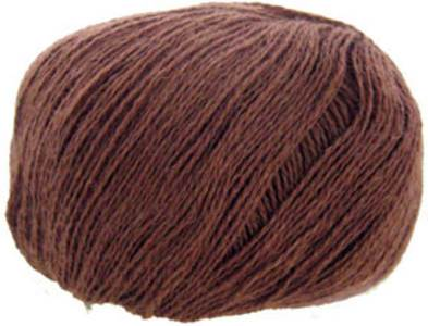 Katia Inox lace yarn, 210 dark brown