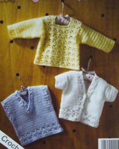 Crochet Sweater King Cole 3015