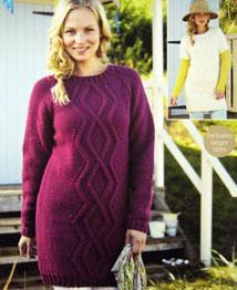 Sweater dress Sirdar 9688
