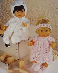 Doll's clothes Stylecraft 4538