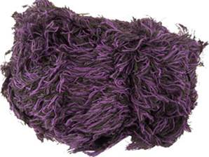 Sirdar Shaggy scarf yarn, 602 purple