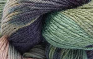 Lornas Laces Shepherd Sock 4 ply, Camouflage