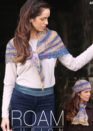 4 ply shawl, hat and cravat Wendy 5798 digital download