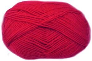 King Cole Merino blend 4 ply 9, Scarlet