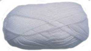 Peter Pan 3 ply, Pure White, 300 50g