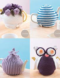 DK crochet teacosies Sirdar 7120 Digital Download