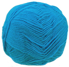 Cygnet Wool Rich 4 ply yarn, 563, Turquoise