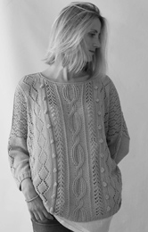 Erika Knight Amalfi DK sweater Digital Download
