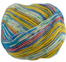 Opal 4 ply sock yarn Illusion 9313, Bodybuilder