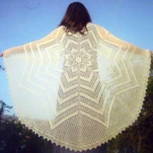 Lace knitting patterns inc shawls wraps modern knitting