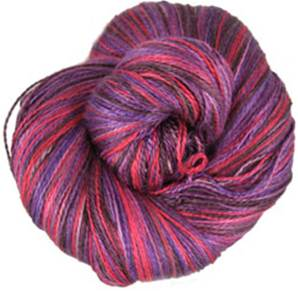 Claudia Silk Lace yarn, Plumlicious