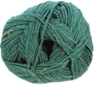 Hayfield Bonus Aran Tweed 784, Green Teal Tuft, 784