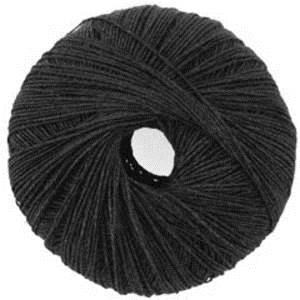 Katia Syros lace yarn, 77 black