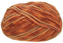 Opal 4 ply sock yarn, Rainforest 8, 6230, Papa Polka
