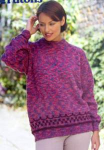 Sweater Patons PBND2224