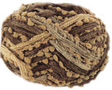Katia Rocio Plus scarf yarn, 602 brown