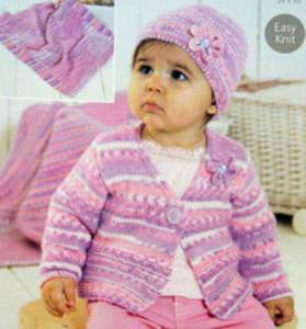 Latest baby and toddler DK knitting patterns