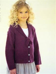 Knitting Pattern Childs Ballet Cardigan : Children DK knitting patterns