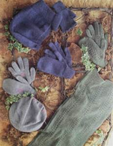 Hats, gloves and scarf Stylecraft 4389