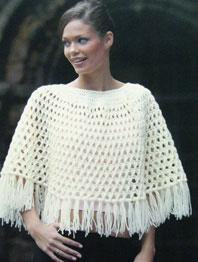 Crochet Cape Wendy 5063