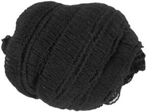 Wendy frills scarf yarn 2648, black