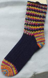 Cable Ride Socks Heartstrings A84 digital download