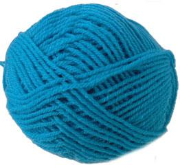 Knitting Patterns For Popsicle Wool : Wendy Mode chunky knitting yarn shade 258 Blue Posicle