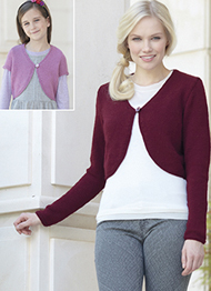DK cardigans Sirdar 7348 Digital Download