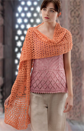 Wendy 5892 top and shawl Digital Download