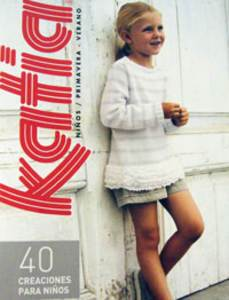Katia 61, 40 spring and summer designs for children