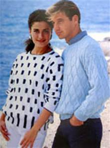 Sweater Jaeger Jpbnd6558 One Of Our Dk 4 Ply Aran Chunky Unisex Knitting Patterns For Men Women
