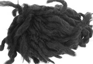Katia Polo Sur scarf yarn, 405 black