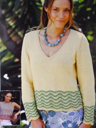 Sweater and top Patons PBN03259