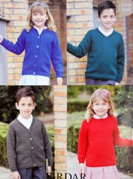 DK sweater and cardigan, Sirdar 2398 Digital Download