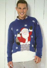 DK xmas Sweater Sirdar 9722, Digital Download