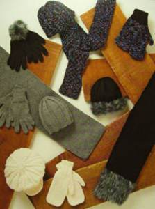 Hats, gloves and scarves Stylecraft 8078