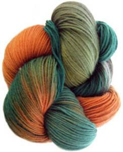 Lornas Laces Shepherd Sock 4 ply, Turtle Rodeo