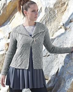 Aran jacket Sirdar 7187 Digital Download