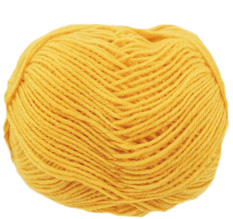 Cygnet Wool Rich 4 ply yarn, 2041, Yellow